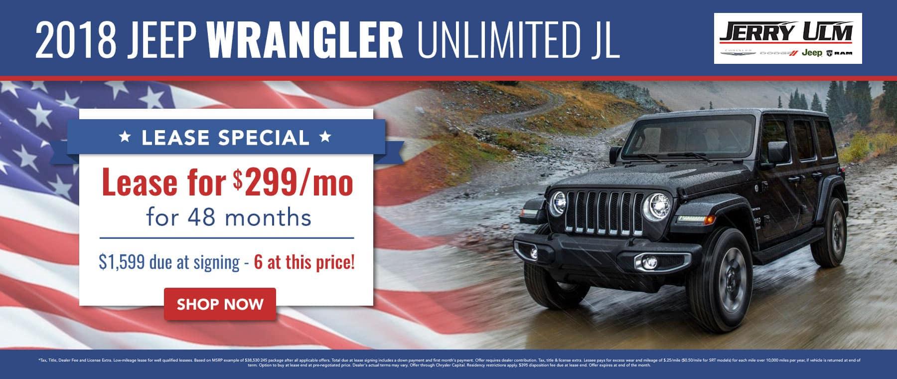2018 Jeep Wrangler special