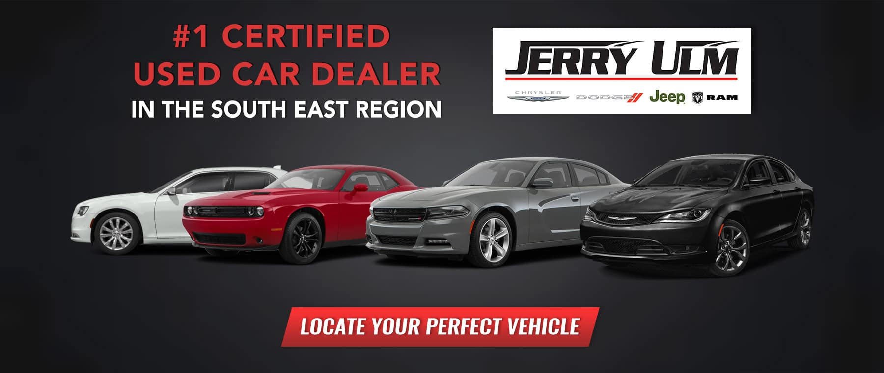 #1 Certified Used Dealer in the South East Region