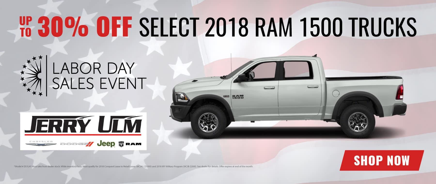 2018 RAM Truck special