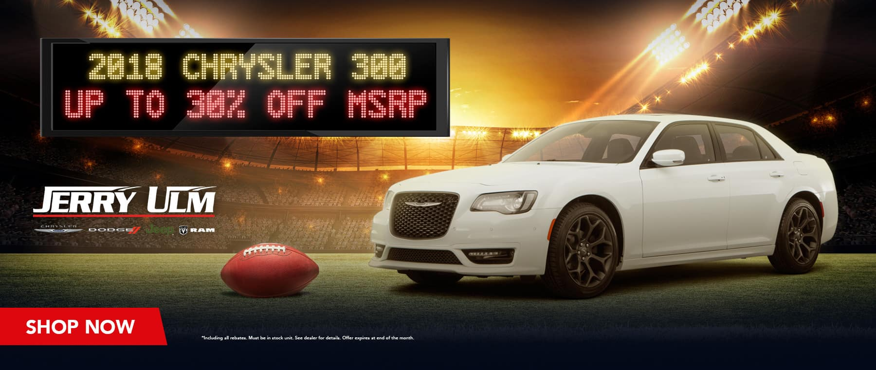 2018 Chrysler 300 special