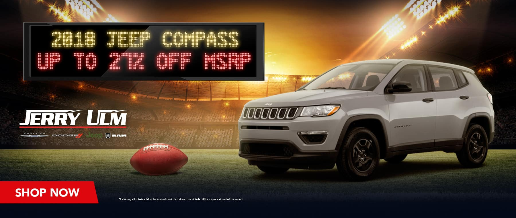 2018 Jeep Compass special