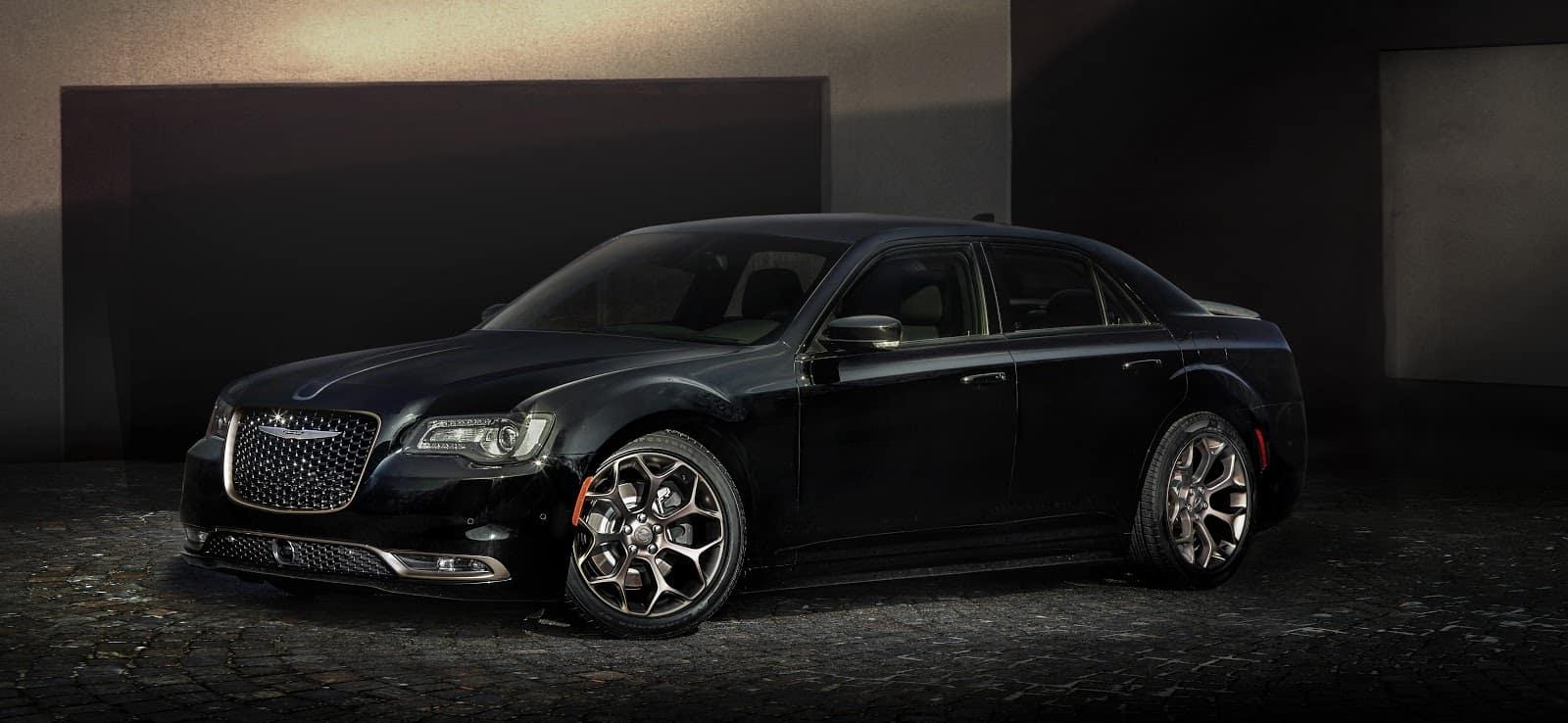 Black Chrysler 300 On Platform