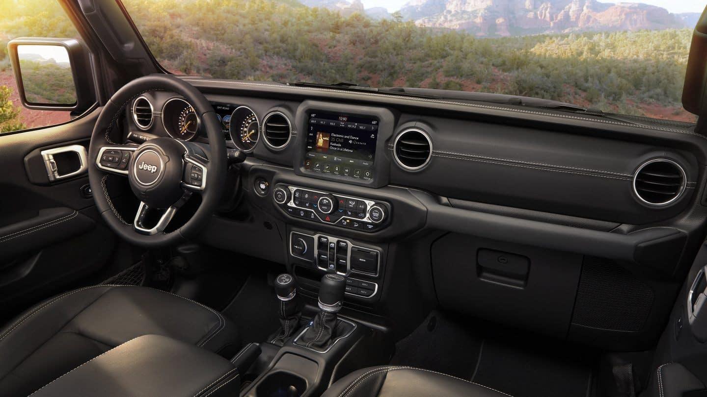 jeep wrangler interior black leather