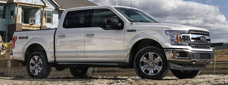 Exterior Features 2018 F-150