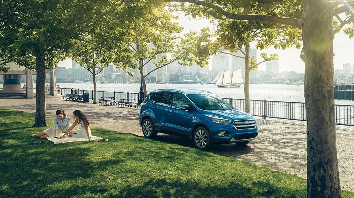 2018 Ford Escape parked in a park