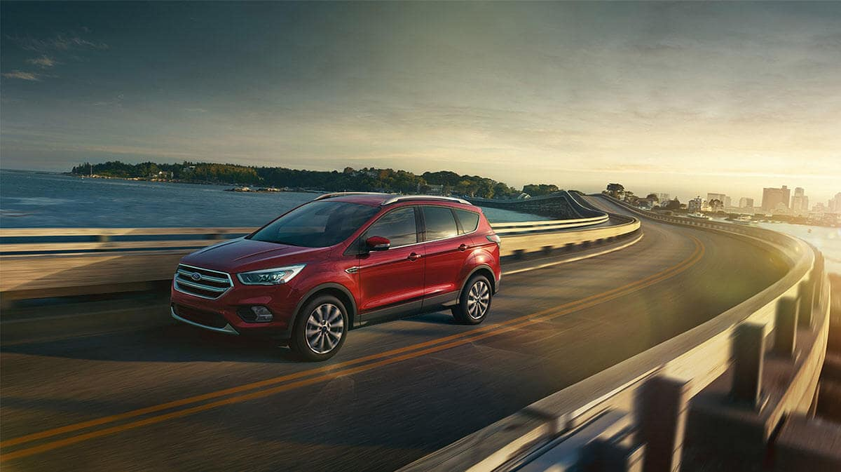 2018 Ford Escape on highway