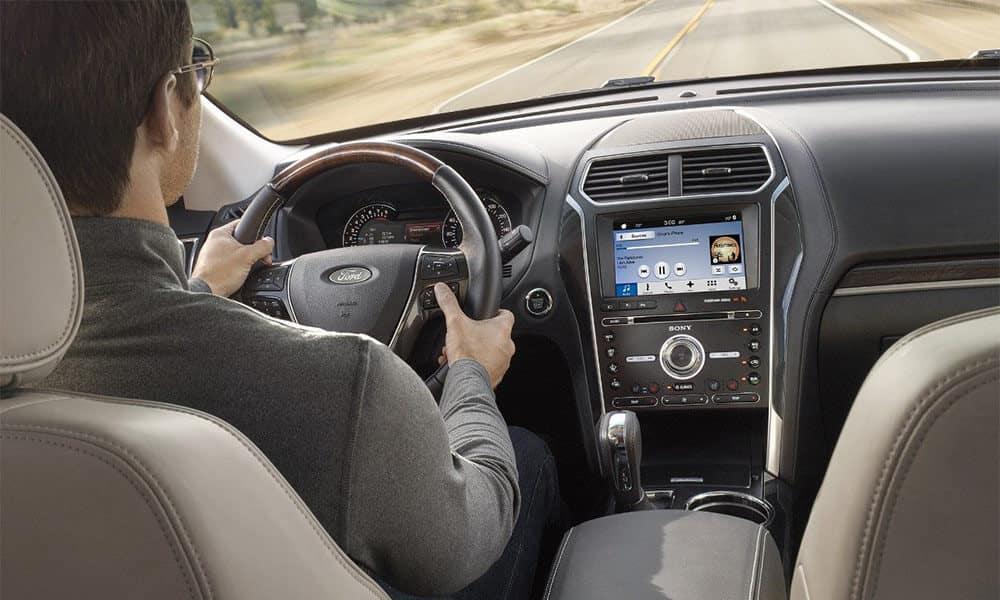2018 Ford Explorer Driver Dash Detail