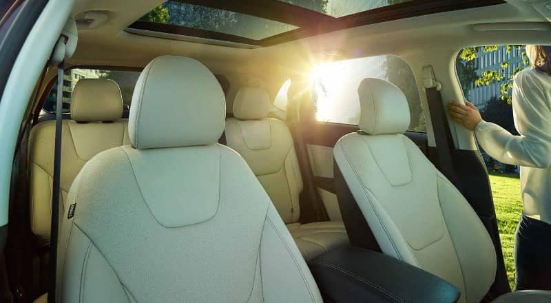 2018 Ford Edge leather interior