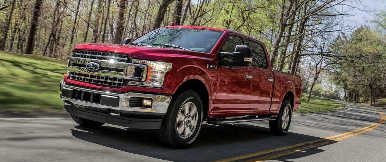 2018 Ford F-150 XLT in Ruby Red