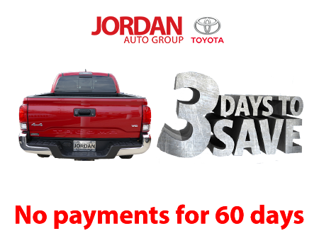 3 Days to save - View All new Toyota Inventory