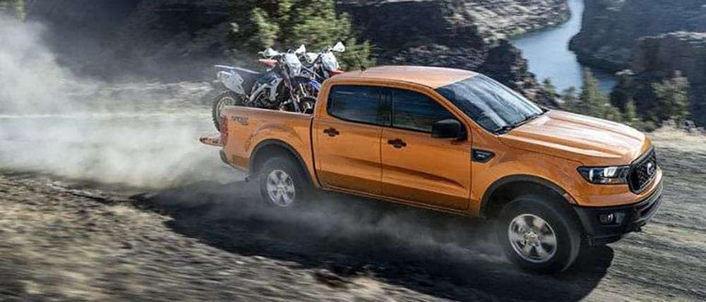2019-Ford-Ranger-with-Motorcycles