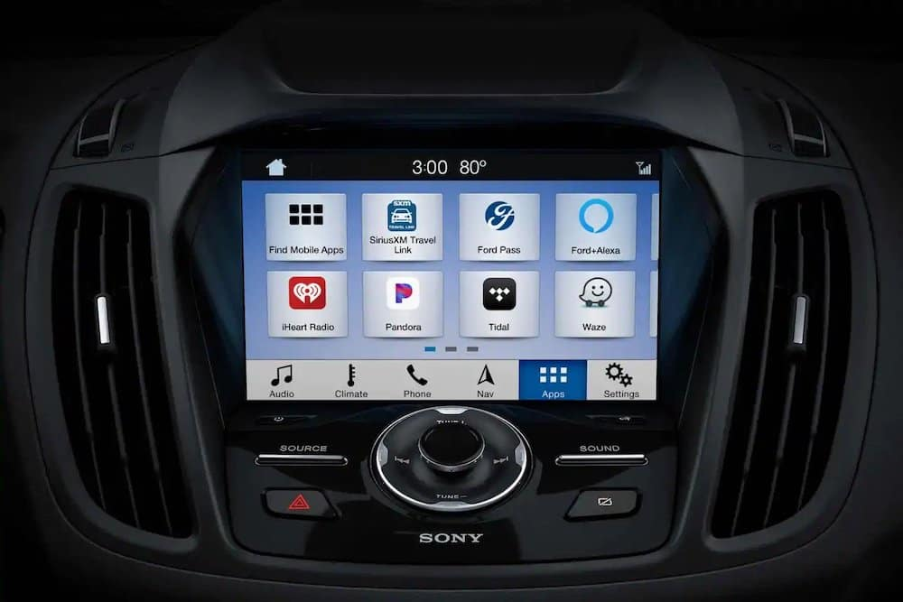 Ford SYNC 3 in 2019 Escape