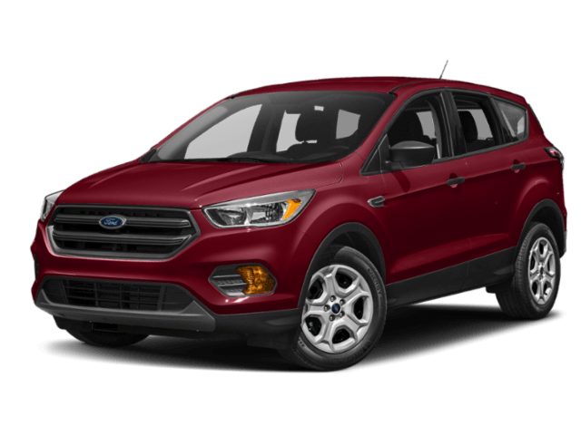2019 Ford Escape in deep red