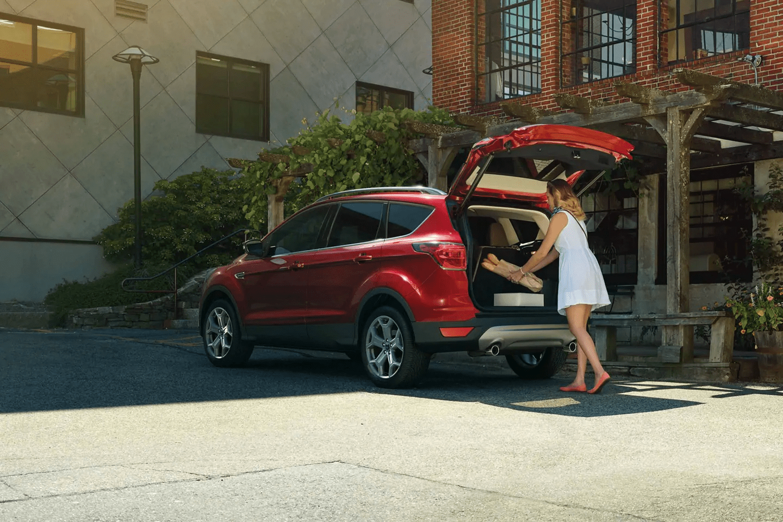2019 ford escape cargo space