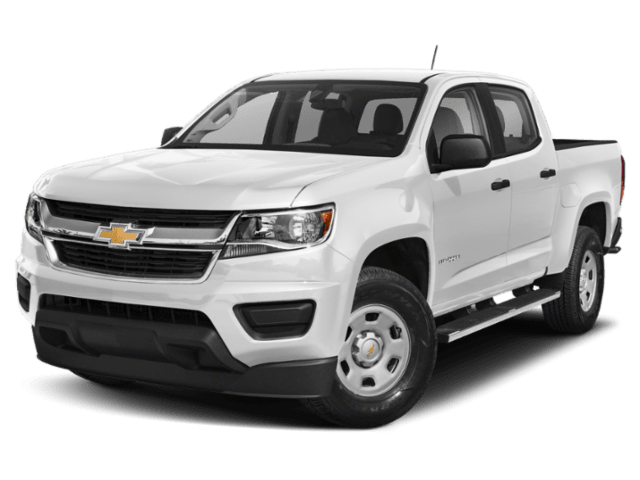 2019 Chevrolet Colorado in white