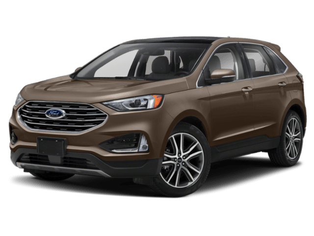 2019 Ford Edge in brown