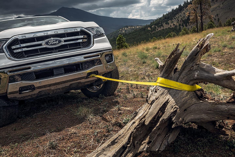 2019 Ford Ranger front tow hooks