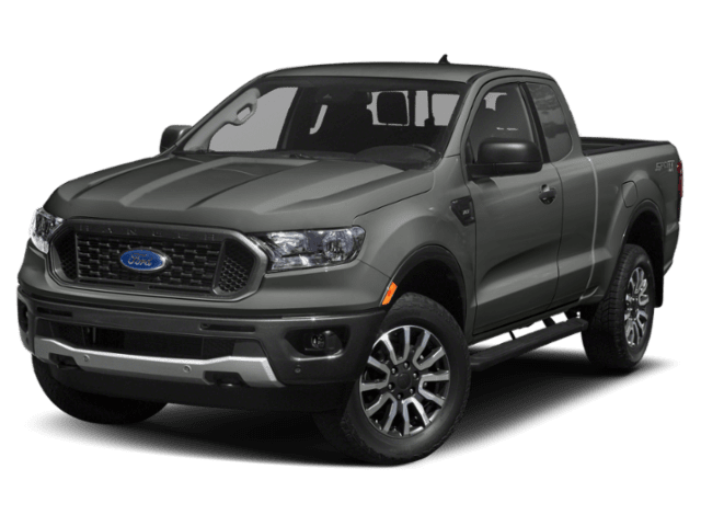2019 Ford Ranger in grey