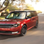 2019 Ford Flex Limited driving on road