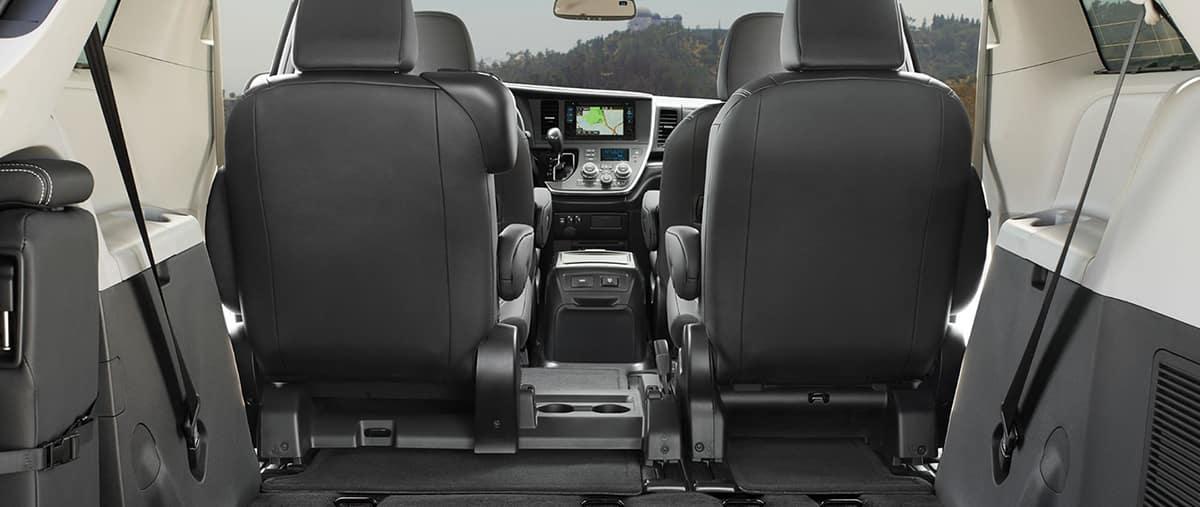 Toyota Sienna Interior Cargo Space