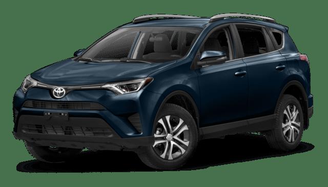 2018 Toyota RAV4 LE - compare