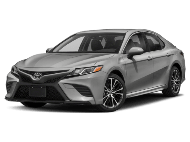 2019 Toyota Camry SE in silver