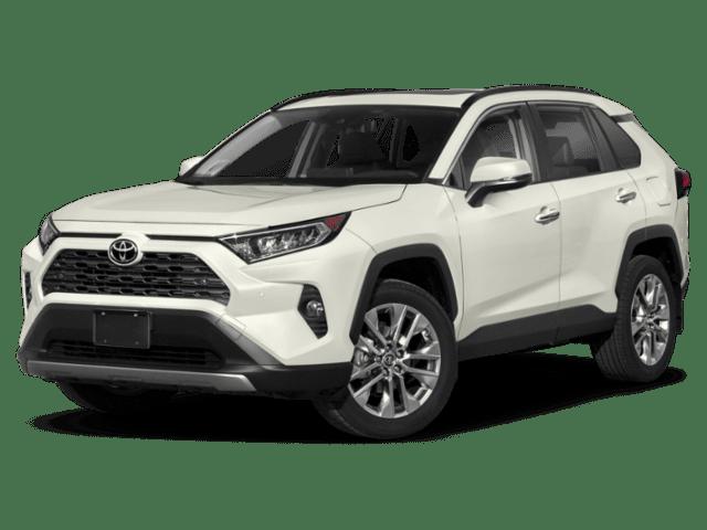 2019 Toyota RAV4 in white