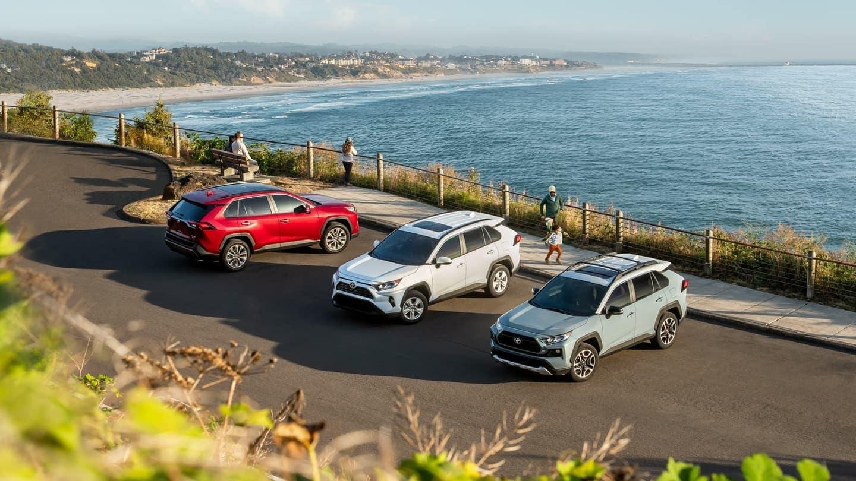 2019 Toyota RAV4 models