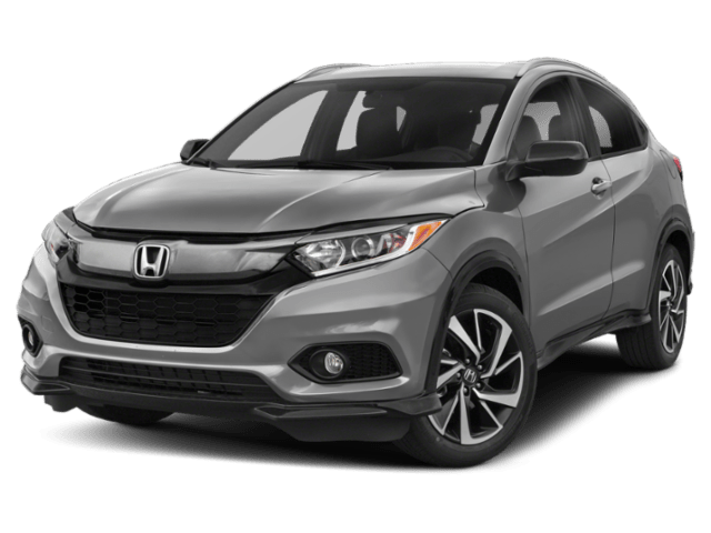 2019 Honda HR-V in dark grey