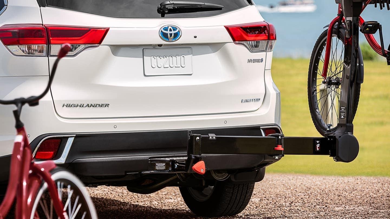 2019 Toyota Highlander Hybrid towing