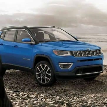 2019 Jeep Compass in blue