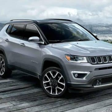 2019 Jeep Compass on the boardwalk