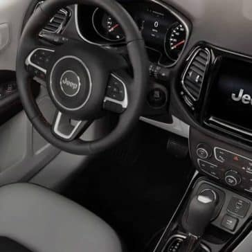 2019 Jeep Compass front interior