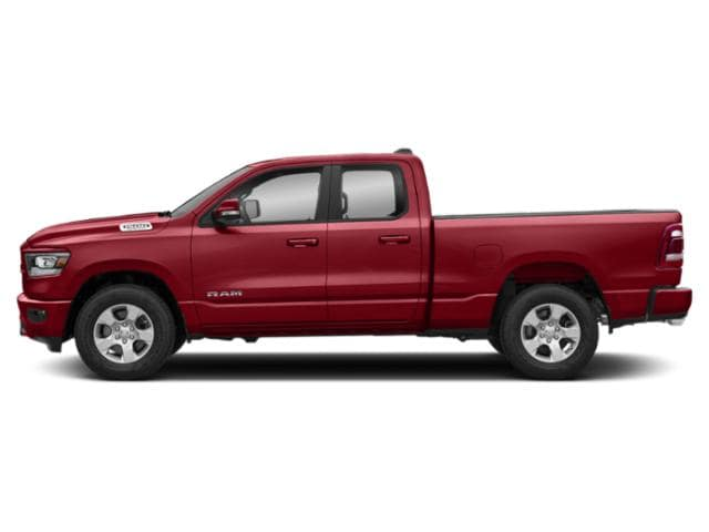 Red 2019 RAM 1500 Tradesman