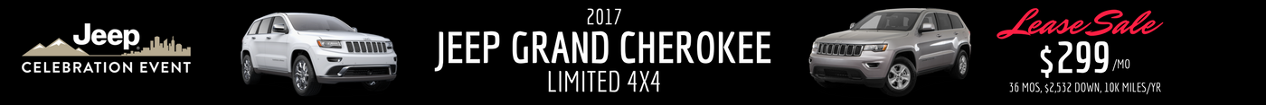 2017 Jeep Grand Cherokee Lease
