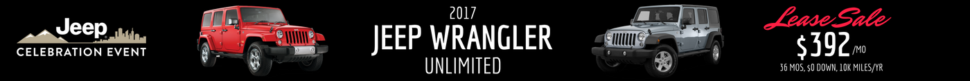 2017 Jeep Wrangler Unlimited Lease