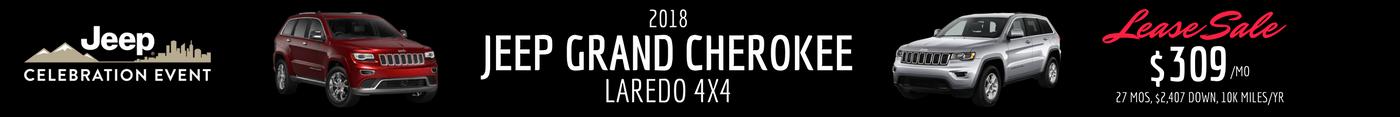 2018 Jeep Grand Cherokee Lease