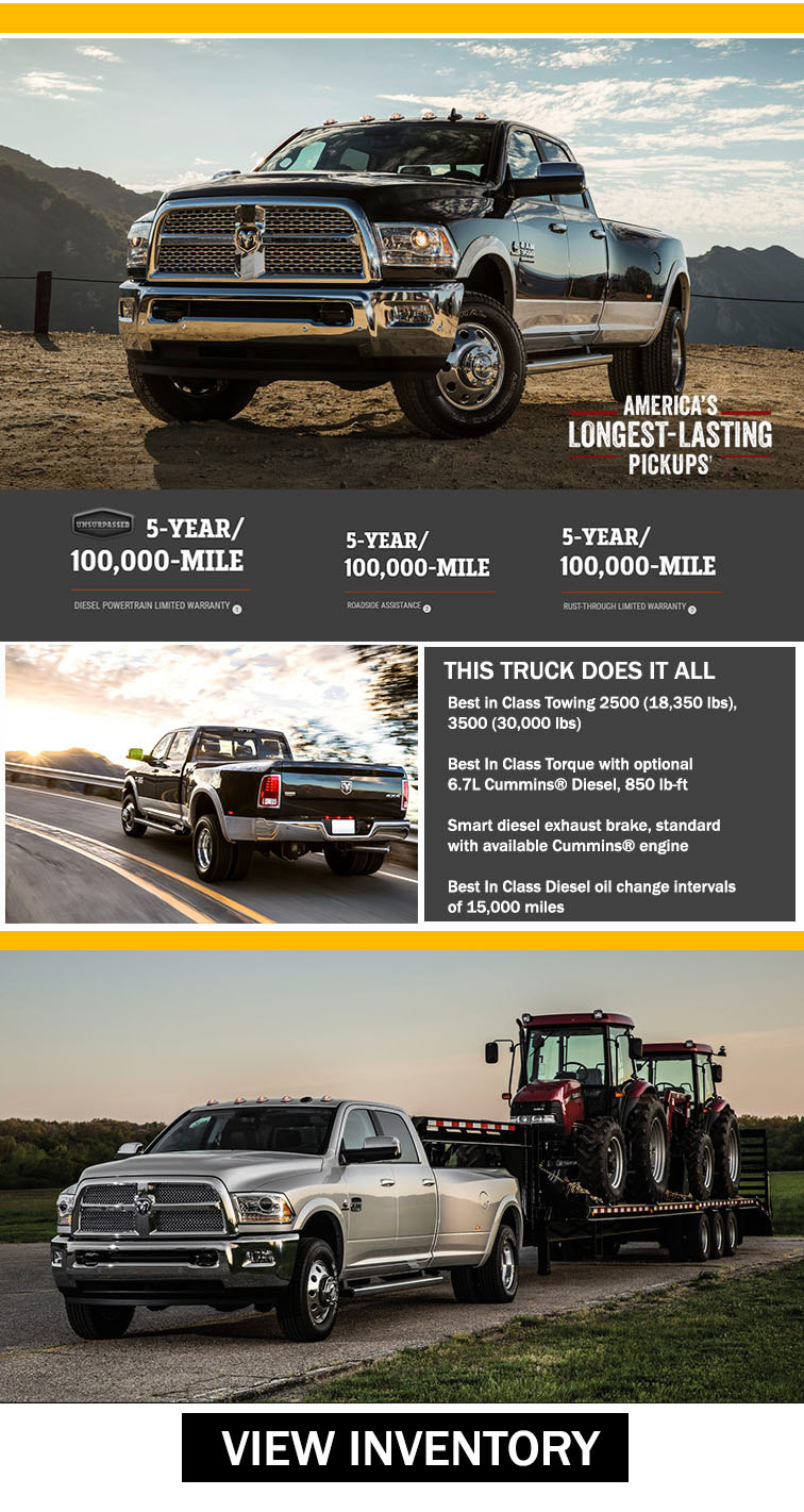 Ram 3500 Work Trucks