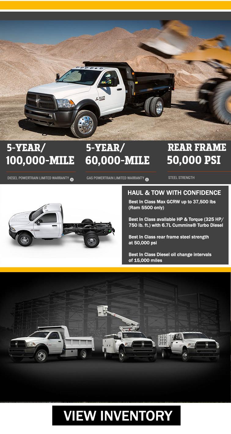 Ram Chassis Cab Work Trucks