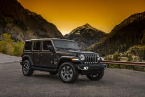 New Jeep Wrangler JL Interior