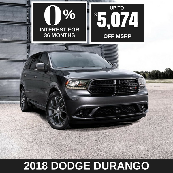 2018 Dodge Durango on sale, Noblesville IN