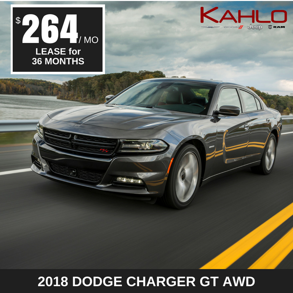 2018 Dodge Charger Lease Deal $264 per month