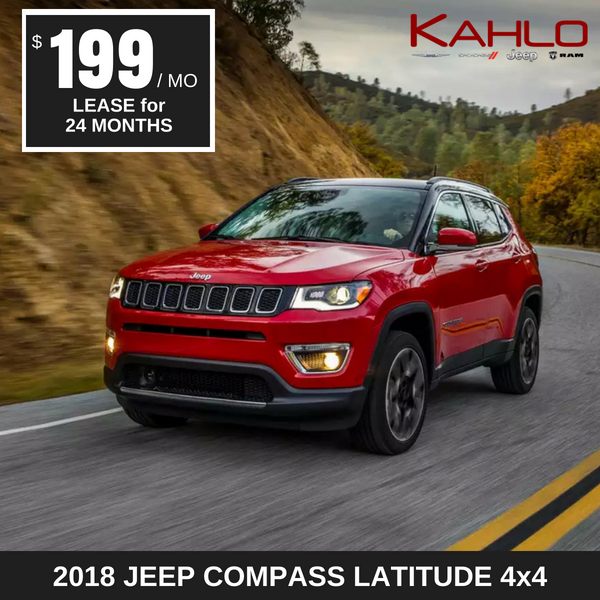 2018 Compass Latitude Lease Deal $199 per month