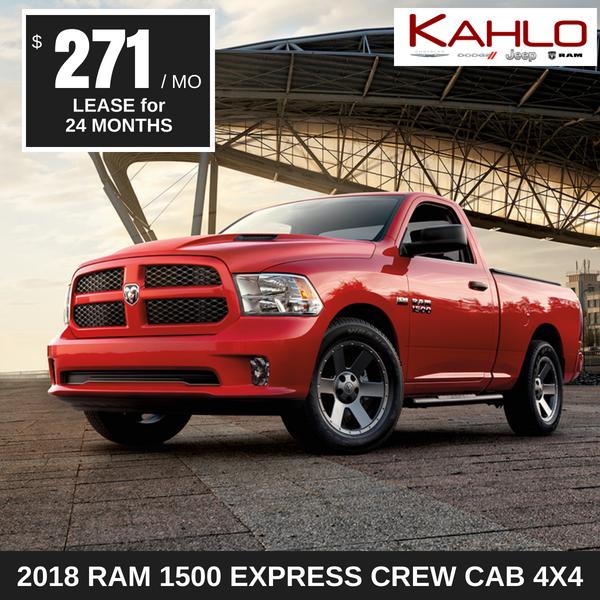 2018 Ram 1500 Express Lease Deal $271 per month