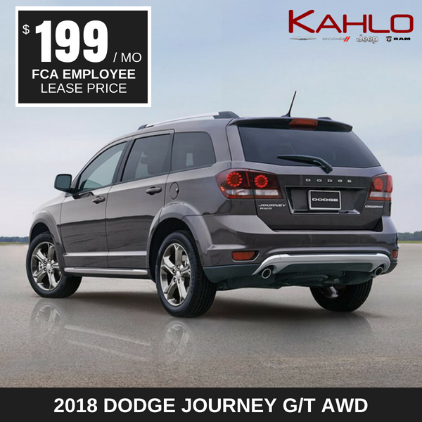 2018 Dodge Journey Lease Deal $199 per month
