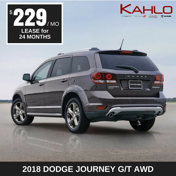 2018 Dodge Journey Lease Deal $229 per month