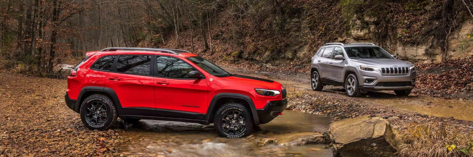 New 2019 Jeep Cherokee near me