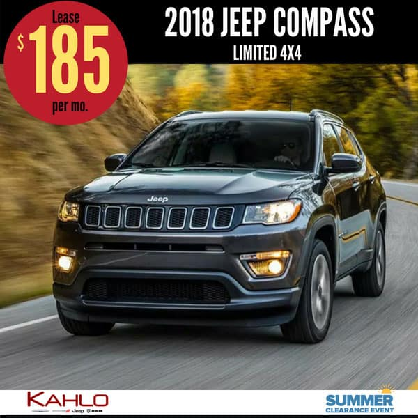 2018 Jeep Compass Lease Deal