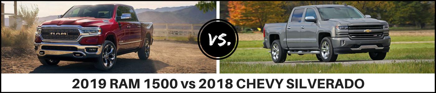 2019 Ram 1500 vs Chevy Silverado