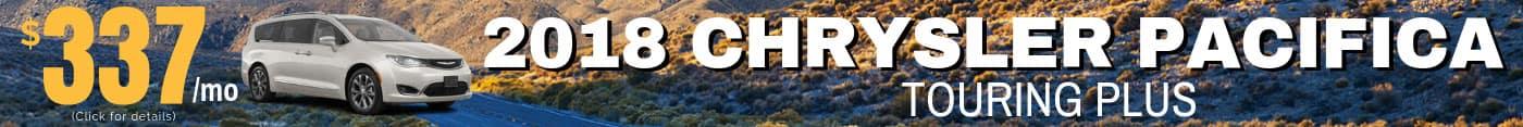 2018 Chrysler Pacifica Deals